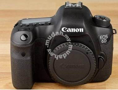 Canon EOS 6D Body only with box