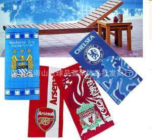 Chelsea towel football blue biru hazard