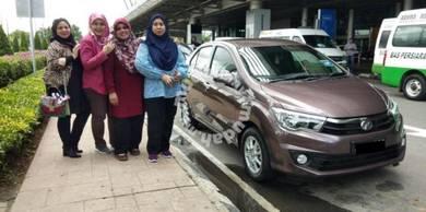 Car Rental Kereta Sewa With Drivee