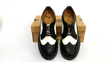 Dr Martens 5 Eye Vintage Black White Original
