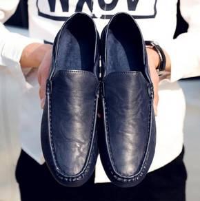 F0224 Dark Blue Loafers Slip On