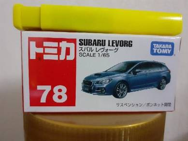 EEQ Tomica Subaru Levorg not hot wheels