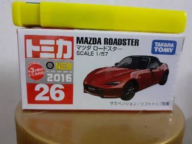 EEQ Tomica Mazda Roadster not hot wheels