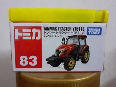 EEQ Tomica Yanmar tractor not hot wheels