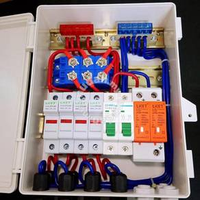 Solar Combiner Box w 5 Protection, 4 String