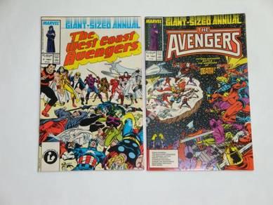 West Coast Avengers Annual 2 - Avengers Annual 16