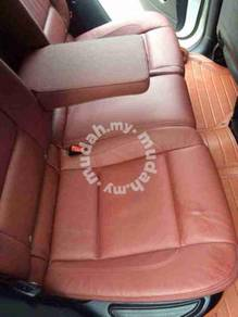 BMW E71 x6 rear console converted to leather seat