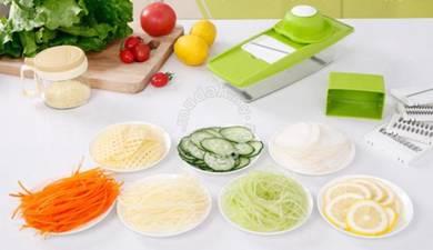 5 in 1 Mandoline Slicers with Food Safety Holder