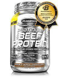 Muscletech Platinum Beef Protein Isolate