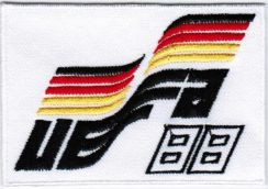 1988 8th West Germany UEFA Euro Football Patch