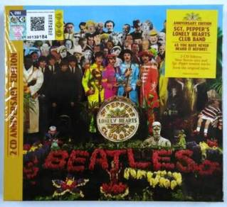 CD BEATLES Sgt. Pepper´s Lonely Hearts Club 2CD