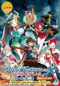DVD ANIME Tales Of Zestiria The X Sea 1+2 Vol.1-26