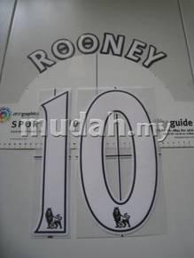 Barclay Premier League Lextra Senscilia Rooney 10