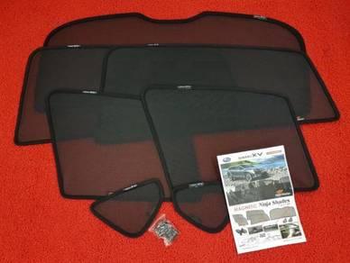Subaru xv oem ninja sun shade side n rear uv block