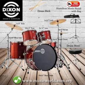 Dixon drum set complete standard 5 piece