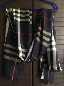Burberry London blue scarf