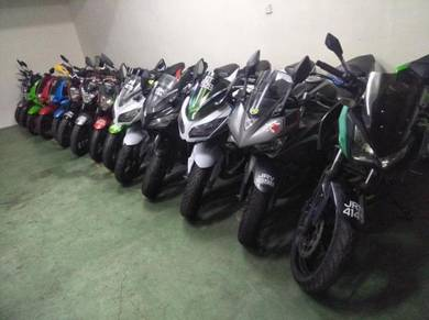 Pemborong NINJA 250 super bike johor clear stock