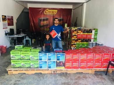 Car battery shop selayang bateri Kereta delivery