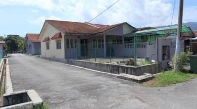 Single Storey Terrace End Lot Nilai Perdana MURAH !!