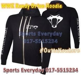 WWE WWF Hoodie Randy Orton Black RKO Baju Jacket