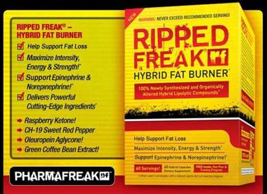 Ripped freak hybrid fat burner muscle kurang gemuk