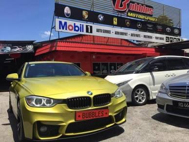 Bmw f30 m3 bodykit with m3 style fender set