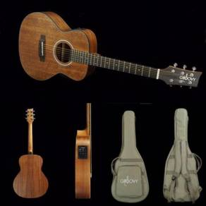 New Groovy Semi Acoustic Guitar GMJMHEQ