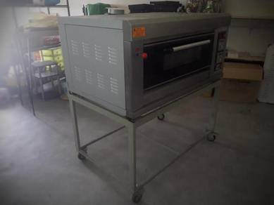 Oven Gas 1 Deck 2 Tray