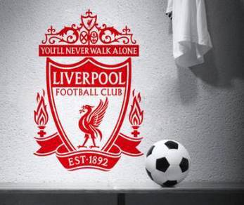 Football club - liverpool sticker