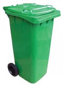 120L mgb garbage waste bin - 2 wheel