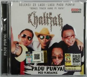 VCD KARAOKE KHALIFAH Padu Punya Koleksi 23 Lagu
