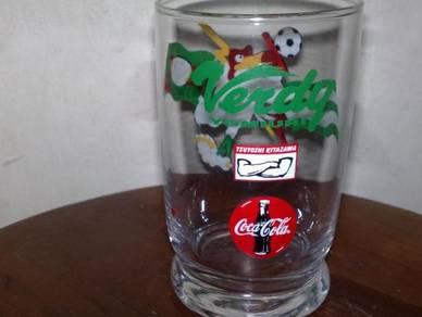 Cawan coca cola coke glass cup