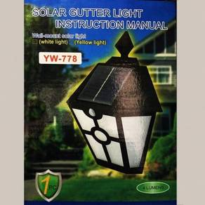 Lampu Wall Solar Light LED