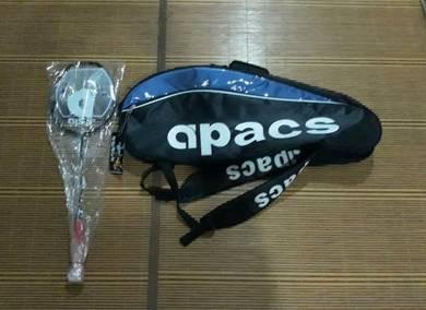 Apacs Lethal 8 Raket Racket Badminton Kombo