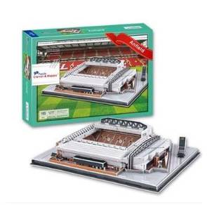 Football club Liverpool Anfield Stadium 3d Puzzle