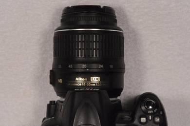 Camera DSLR Nikon Model D3000