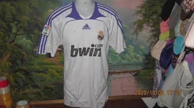 Adidas real madrid 2007/08 jersey sze L