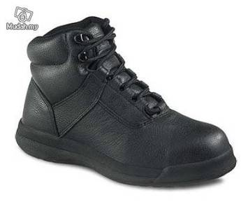 Safety Shoes Worx Red Wing Women Chukka Black 5433