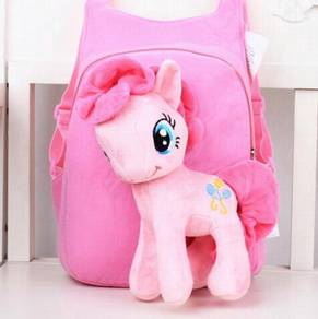 Cute MY LITTLE PONY Soft Plush Toy Backpack bag-P