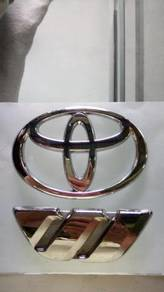 Toyota wish front & rear emblem