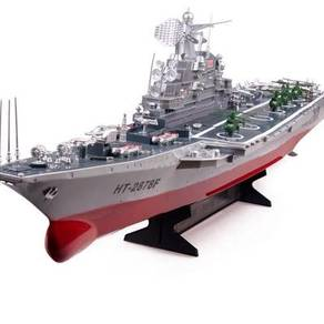 Remote control Russia challenger aircraft carrier