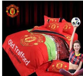 Man utd bed mattress and pillow