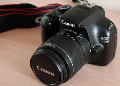 Camera canon dslr model 1100d fullkit