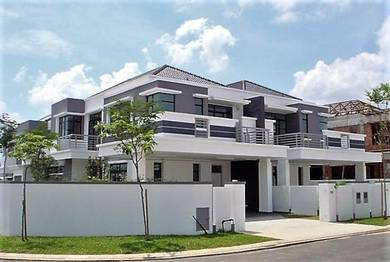 [New Crystal Masjid] Freehold 2Storey 70x100 End Lot Near By AEON