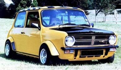 Classic mini part wheel arch