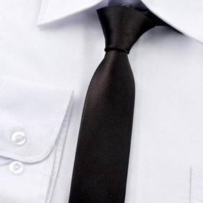 001 PROFESSIONAL TIE BUSiNESS MEN NECKTIE (BLACK)