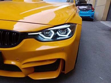 BMW F30 angel eye convert BMW F30 M3 bodykit