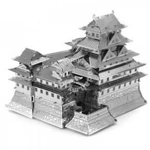 3D Nano Steel Laser Cut Puzzle - Hime Ji Castle