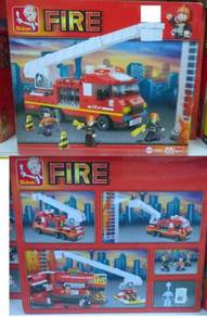 Kids Education Toys Fire Engine Lego ( Bomba Keret