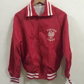 Polish Power Red Jacket Size M